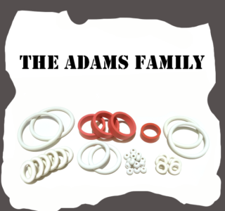 Bally/Midway The Adams Family Rubber Kit for Pinball Machine