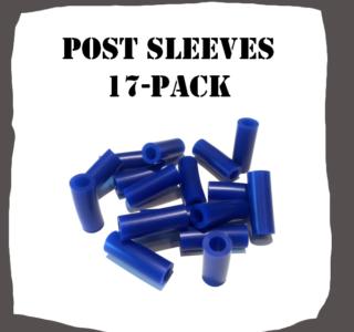 Post Sleeves 17-Pack Pinball Parts