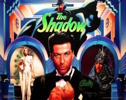 Bally/Midway The Shadow 1994 Pinball Machinee