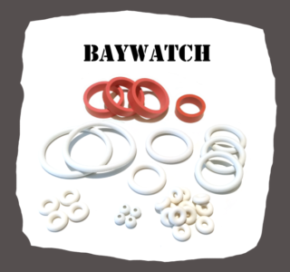 SEGA Baywatch Rubber Kit for Pinball Machine