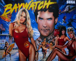 SEGA Baywatch Pinball Parts
