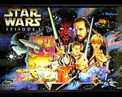 Williams Star Wars Episode 1 Pinball Machine