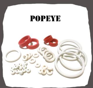 Bally/Midway Popeye Rubber Kit for Pinball Machine