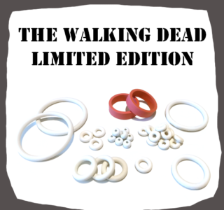 Stern The Walking Dead LE Rubber Kit for Pinball Machine