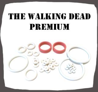 Stern The Walking Dead PREMIUM Rubber Kit for Pinball Machine