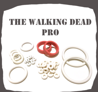 Stern The Walking Dead PRO Rubber Kit For Pinball Machine