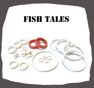 Williams Fish Tales Rubber Kit for Pinball Machine