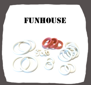 Williams Funhouse Rubber Kit for Pinball Machine