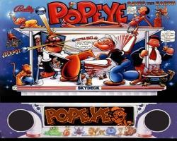 BallyMidway Popeye 1994 Pinball Machine