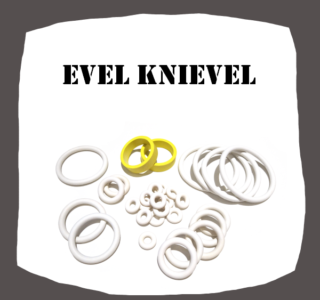 Bally Evel Knievel rubber kit for Pinball Machine