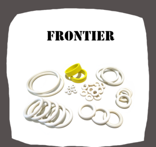 Bally Frontier Rubber kit of high quality pure rubber