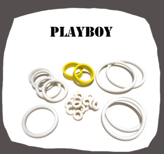 Bally Playboy Rubber Kit for Pinball Machine