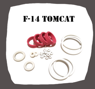 Williams F-14 Tomcat high quality Rubber kit for Pinball Machine