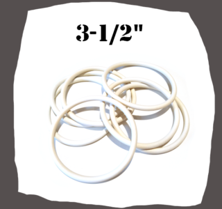 Rubber Ring 3-1/2'' (X88,95.34) Pinball Part