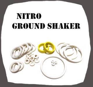 Bally Nitro Ground Shaker Rubber kit of high quality