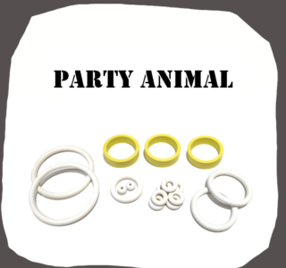 Bally Party Animal high quality rubber kit