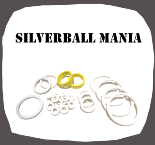 Bally Silverball Mania hig quality rubber kit