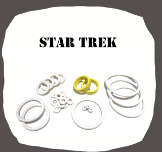 Bally Star Trek Rubber kit of high quality