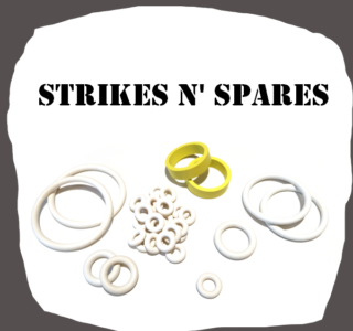 Bally Strikes and Spares rubber kit of high quality