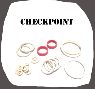 Data East Checkpoint High Quality Rubber Kit