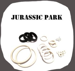 Data East Jurassic Park Rubber Kit of high quality