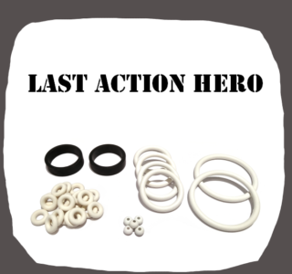 Data East Last Action Hero Rubber Kit of high quality