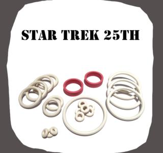 Data East Star Trek 25th Rubber Kit to Pinball Machine