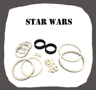 Data East Star Wars high quality rubber kit for pinball machine