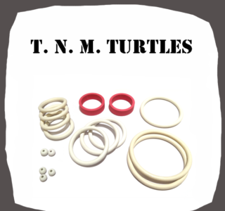 Data East TNM Turtles Rubber Kit of High Quality