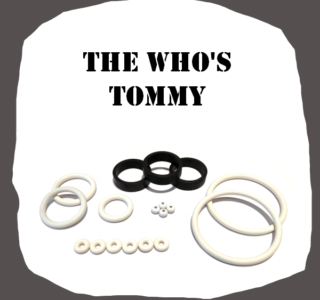 Data East The Who Rubber Kit of high quality
