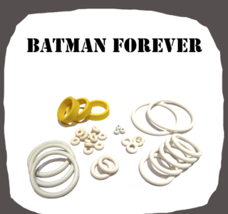SEGA Batman Forever Rubber Kit of High Quality