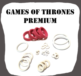 Stern Game of Thrones Premium rubber kit for Pinball Machine