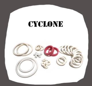 Williams Cyclone high quality Rubber Kit