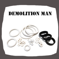 Williams Demolition Man Rubber kit for Pinball Machine