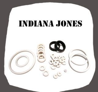 Williams Indiana Jones Rubber kit of high quality
