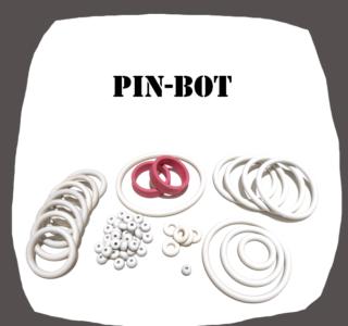Williams PIN-BOT Rubber kit Pinball Machine