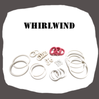 Williams Whirlwind Rubber kit of high quality