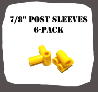"7/8"" Type 6-Pack Post Sleeves Pinball Part"