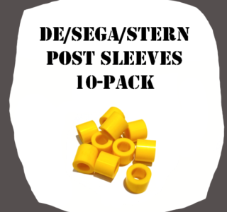 Post Sleeves 10-Pack DE/SEGA/Stern of high quality