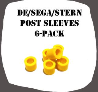 Post Sleeves 6-Pack DE-SEGA-Stern High quality Pinball part