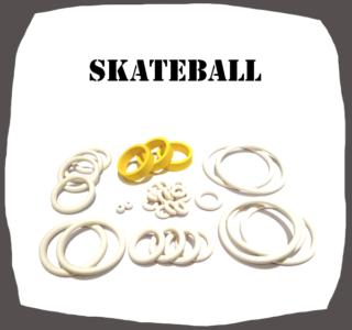 Bally Skateball Rubber kit of High Quality
