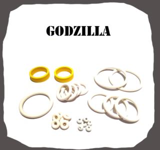 SEGA Godzilla Rubber Kit