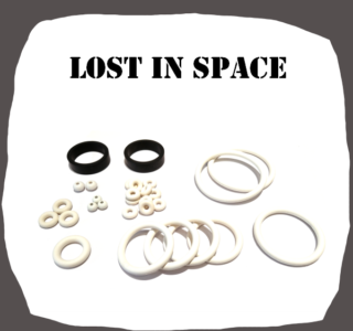 SEGA Lost in Space Rubber kit