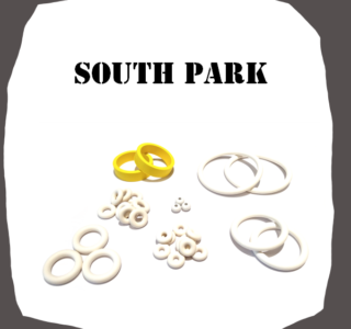 SEGA South Park Rubber Kit of High Quality
