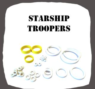 SEGA Starship Troopers Rubber Kit High Quality