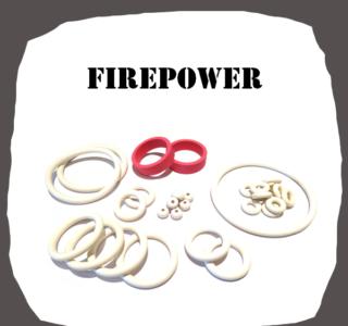 Williams Firepower Rubber Kit for Pinball Machine