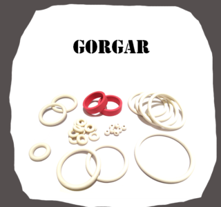 Williams Gorgar Rubber Kit of High Quality