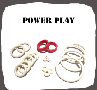Bally Power Play Rubber Kit of High Quality