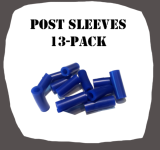 Post Sleeves 13-Pack for Pinball Machine