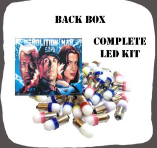 Complete LED Back Box Kit Demolition Man